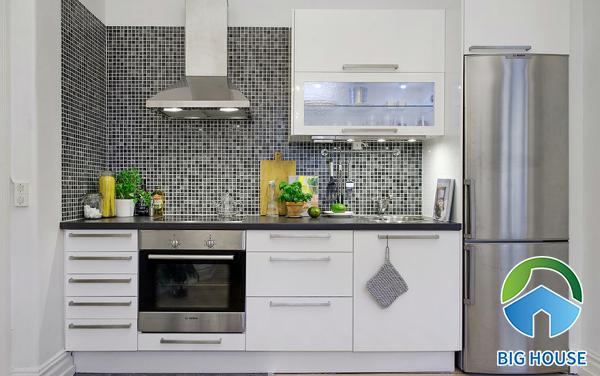 Gạch ốp bếp Mosaic
