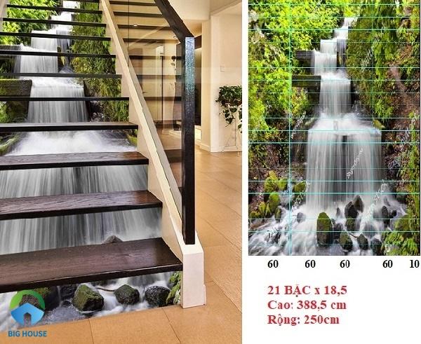 Chọn gạch cầu thang 3 D đem lại sự mới lạ cho nhà bạn.