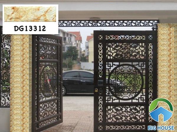 Gạch ốp cổng nhà đẹp DG13312