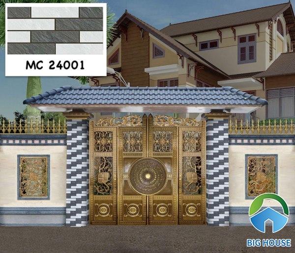 Gạch ốp cổng nhà đẹp MC 24001