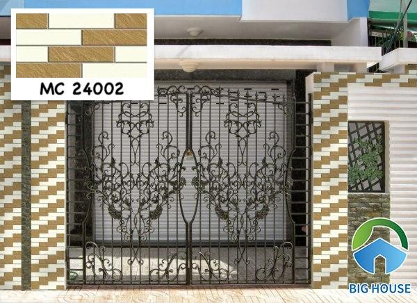 Gạch ốp cổng nhà đẹp MC 24002