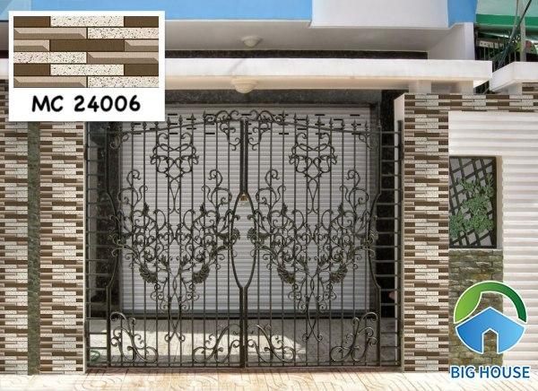 Gạch ốp cổng nhà đẹp MC 24006