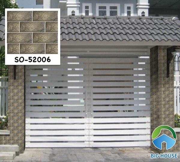 Gạch ốp cổng nhà đẹp SO-52006