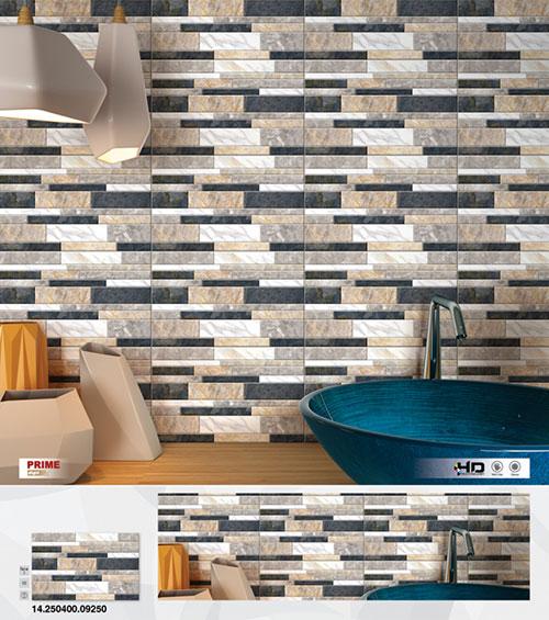 mâu gạch ốp tường cho nhà vệ sinh nhẹ nhàng