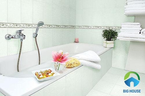 gạch ốp tường cho nhà tắm