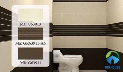 gạch ốp tường cho nhà vệ sinh ấn tượng