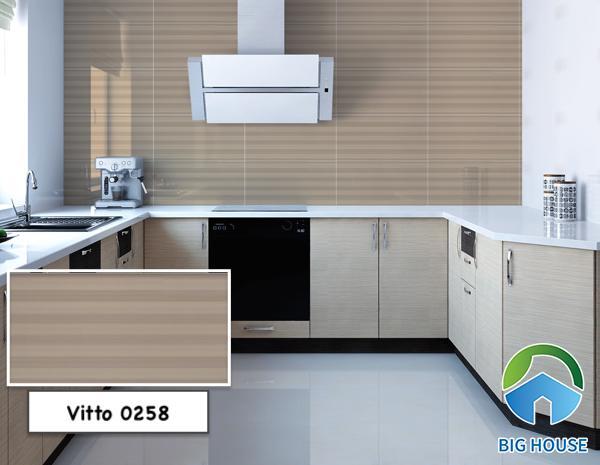 Gạch ốp tường bếp 30x60 Vitto 0258