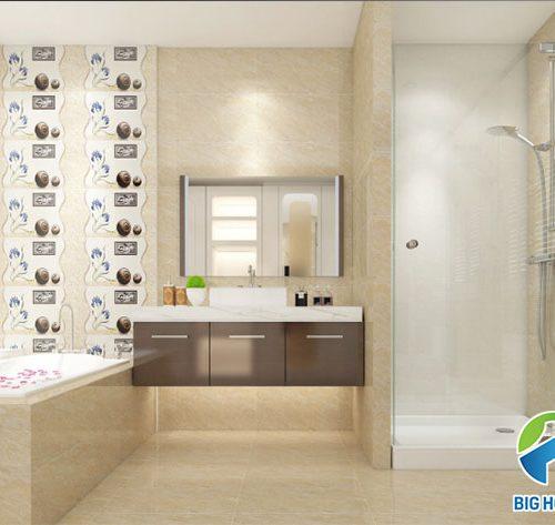 23 Mẫu gạch ốp tường nhà tắm, nhà vệ sinh HOT nhất 2020