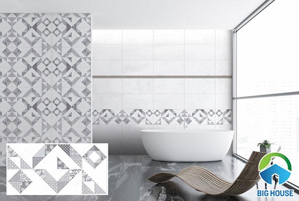 Mẫu gạch Prime 08654 tạo điểm nhấn hiệu quả cho phòng tắm