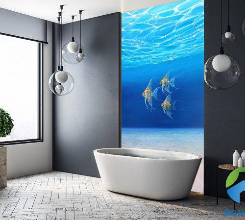 Chiêm Ngưỡng Top Mẫu Gạch Ốp Tường Nhà Tắm 3D Đẹp