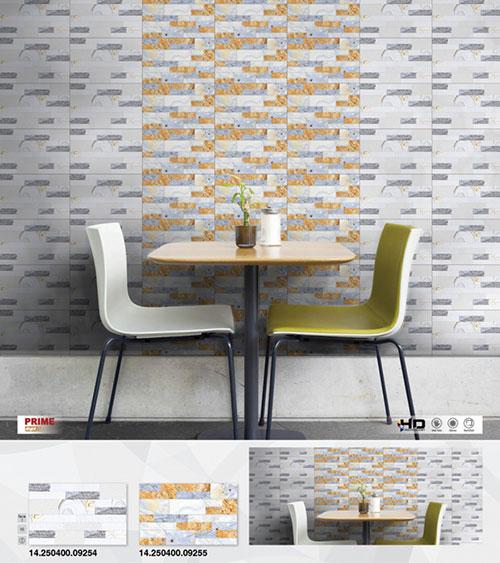 mẫu gạch ốp tường phòng khách nhẹ nhàng