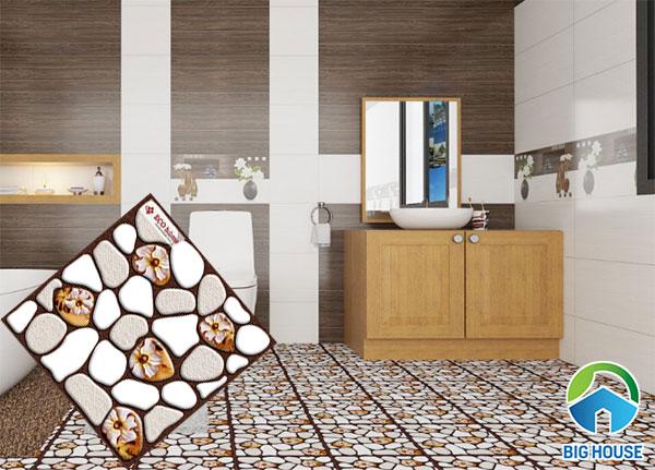 Gạch ECO301 lát sàn nhà tắm
