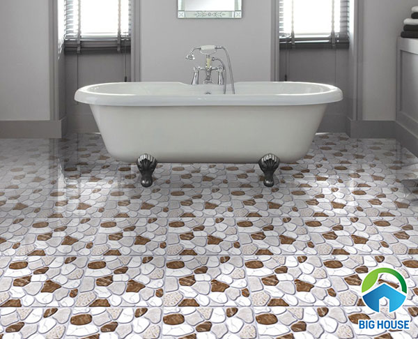 22 Mẫu gạch sỏi lát nền nhà tắm Đẹp – Chất Lượng nhất 2021