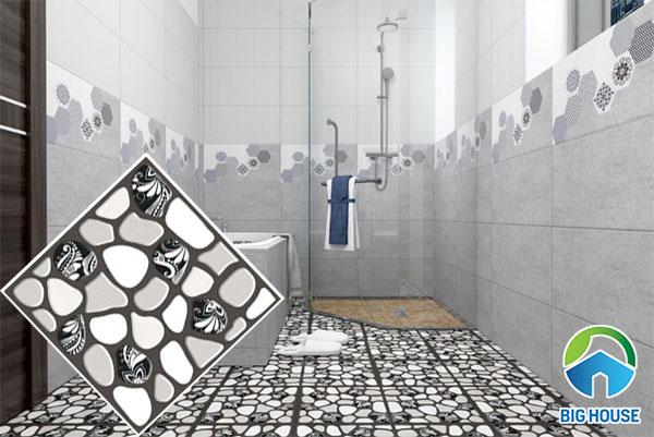 Gạch sỏi lát nền nhà tắm 7