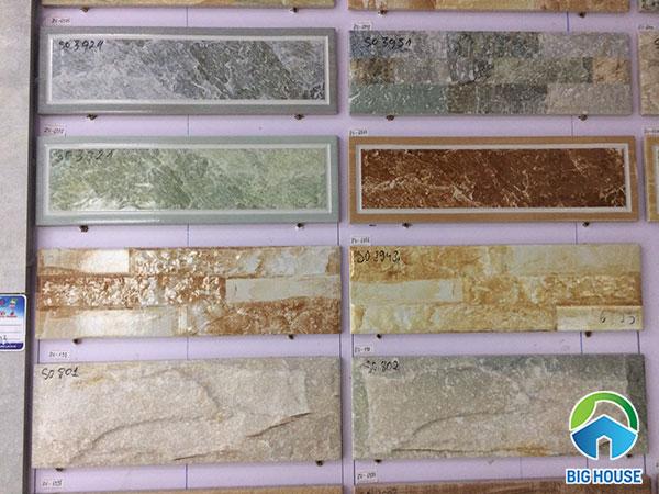Top Mẫu gạch thẻ giả đá Đẹp nhất và Cách phân loại, lựa chọn