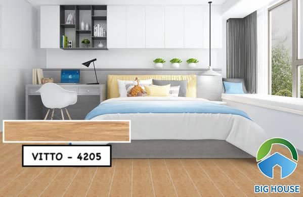 Gạch vân gỗ 15x80 Vitto 4205