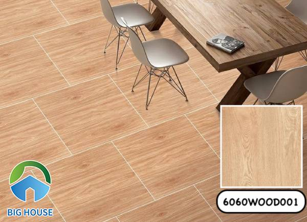 Gạch vân gỗ 60x60 Đồng Tâm 6060WOOD001