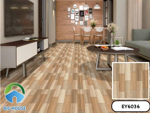 Gạch vân gỗ 60x60 Ý Mỹ EY6036