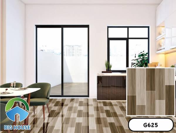Gạch vân gỗ 60x60 Ý Mỹ G625