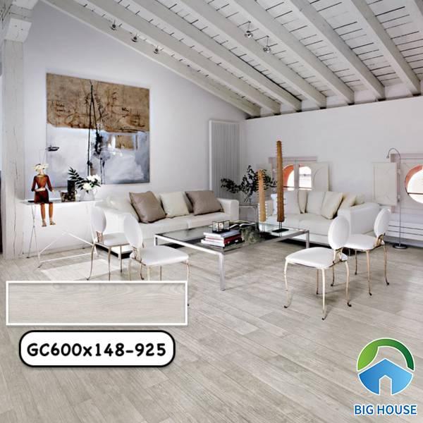 Gạch vân gỗ màu xám Taicera GC600x148-925