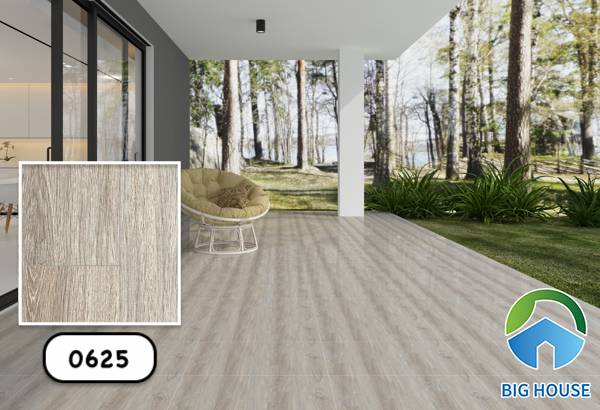 Gạch vân gỗ màu xám Vitto 0625