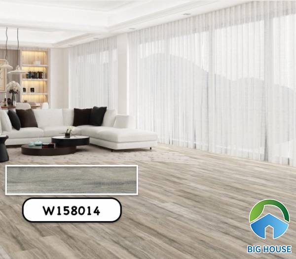 Gạch vân gỗ màu xám CMC W158014