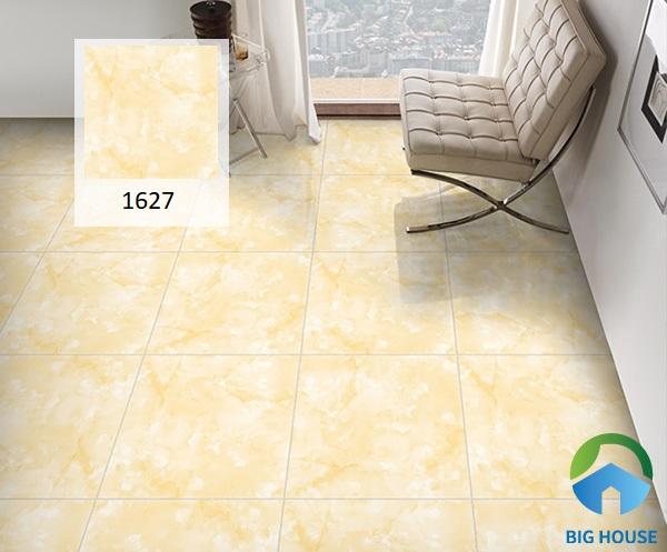 Mẫu gạch Prime 1627 60x60 được làm từ phần xương gạch ceramic nhưng có độ cứng và độ bền cao. Ngoài ra, giá thành của sản phẩm cũng rất phải chăng. Do đó, nếu chi phí thi công có phần hạn hẹp thì lựa chọn mẫu gạch này là gợi ý hoàn hảo nhất dành cho bạn