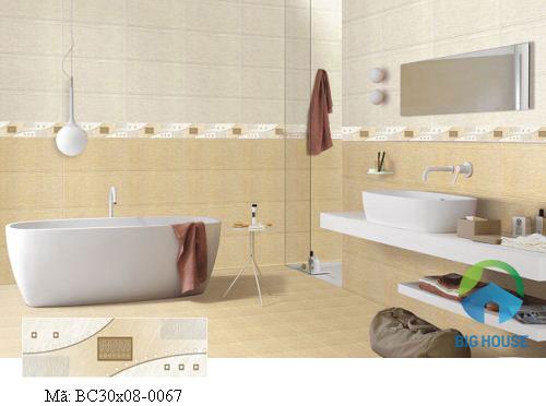 mẫu gạch ốp viền nhà tắm