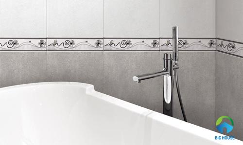 9 Mẫu gạch viền nhà tắm, nhà vệ sinh Đẹp kèm Báo giá 2020