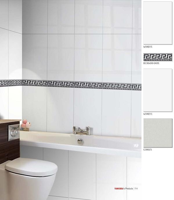 Gạch ốp tường nhà vệ sinh 25x40