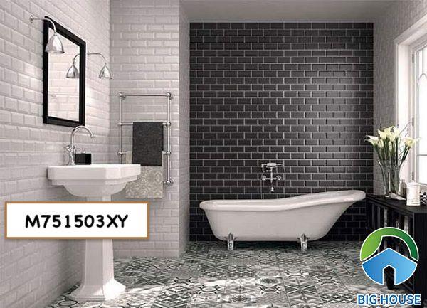 Gạch thẻ ốp nhà tắm M751503XY