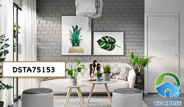 Gạch thẻ ốp phòng khách DSTA75153