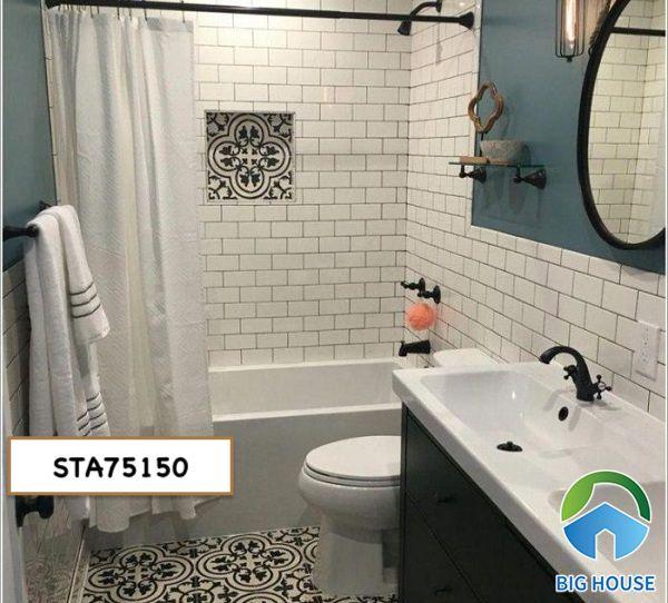 Gạch thẻ ốp nhà tắm STA75150