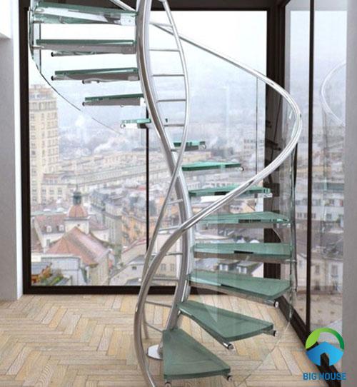 mẫu cầu thang ấn tượng nhất