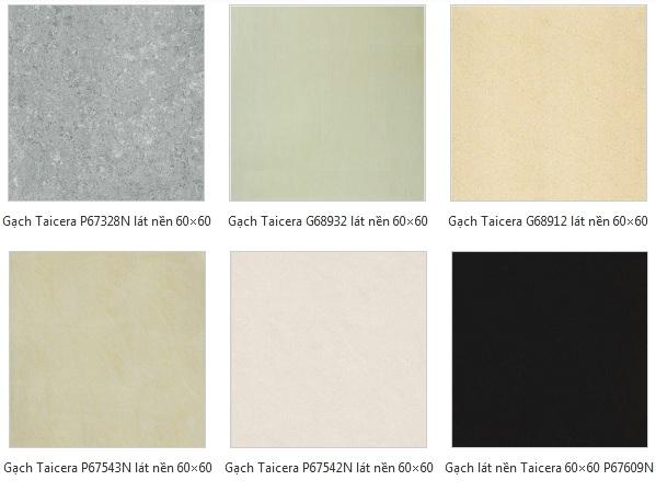 Các mẫu gạch lát nền đẹp 60x60 nổi bật của Taicera