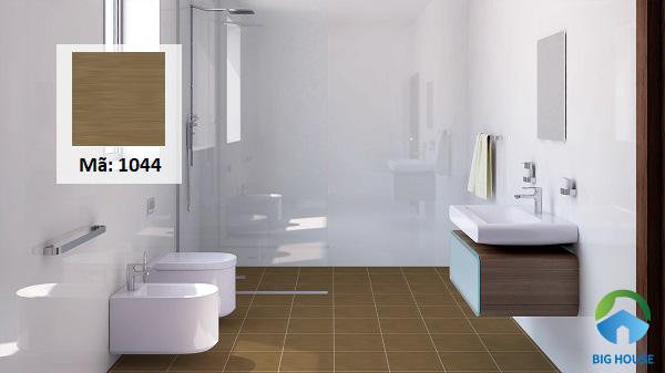 Gạch Vitto 1044 có kích thước 30x30 thích hợp với phòng tắm có diện thích nhỏ