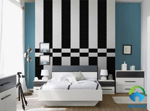 mẫu gạch ốp tường phòng ngủ đẹp nhất
