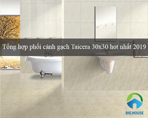 Tổng hợp phối cảnh gạch Taicera 30×30 Ấn tượng và Lưu ý khi dùng